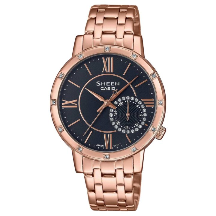 Casio SHE-3046PG-8AUER Reloj para Mujer